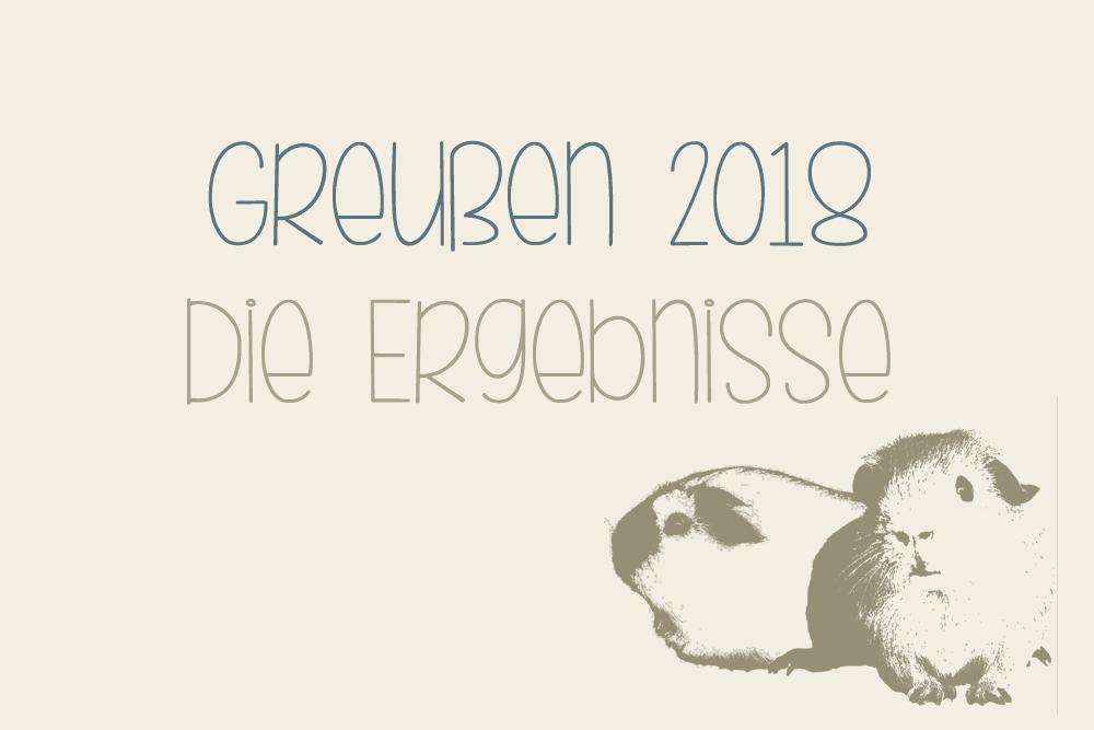 Greußen 2018 - ERGEBNISSE