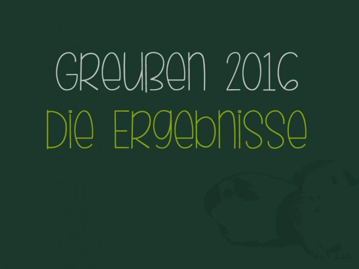 Ergebnisse 2016